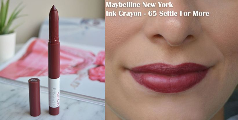 Maybelline Super Stay Ink Crayon 65 Settle For More