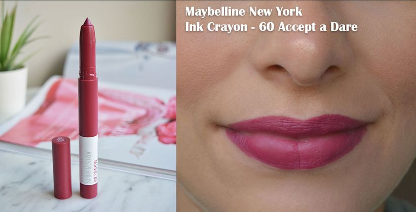 Maybelline Super Stay Ink Crayon 60 Accept a Dare