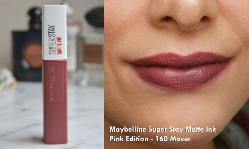 Maybelline Super Stay Matte Ink Pink Edition – 160 Mover