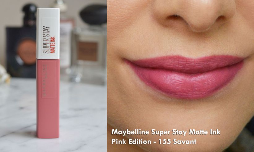 Maybelline Super Stay Matte Ink Pink Edition – 155 Savant