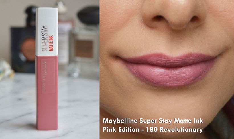 Maybelline Super Stay Matte Ink Pink Edition – 180 Revolutionary
