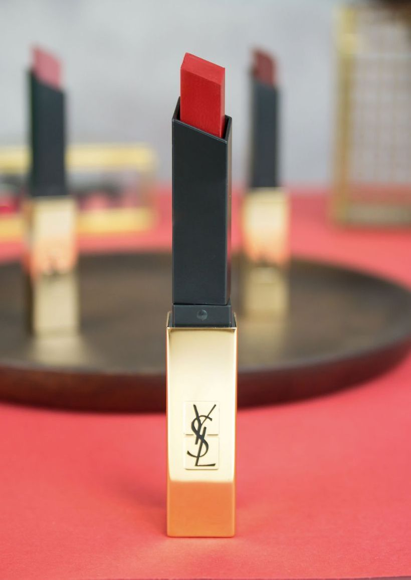 ysl beauty the slim matte 01 rouge extravagant