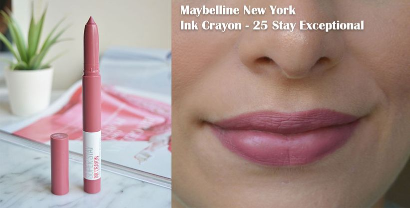 Maybelline Super Stay Ink Crayon 25 Stay Exceptional