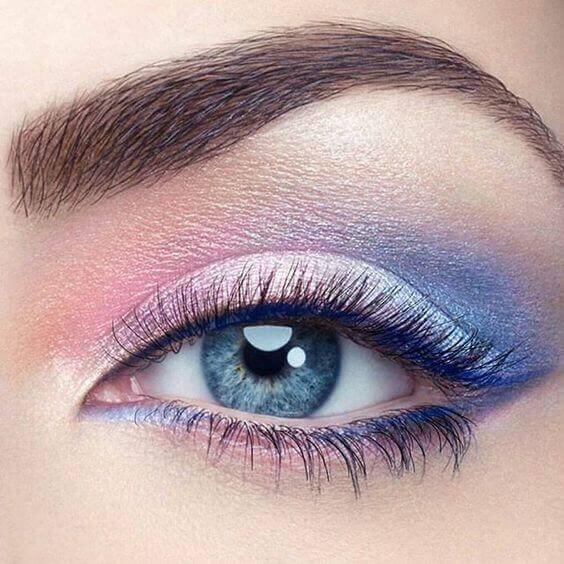 Renkli göz farı kullanım örnekleri