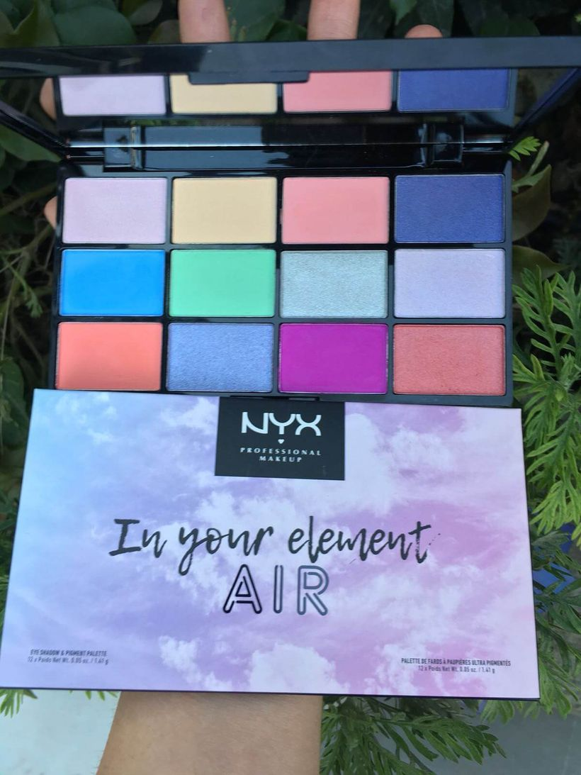 Deniyoruz: NYX Professional Makeup In Your Element Far Paletleri ve Rujlar